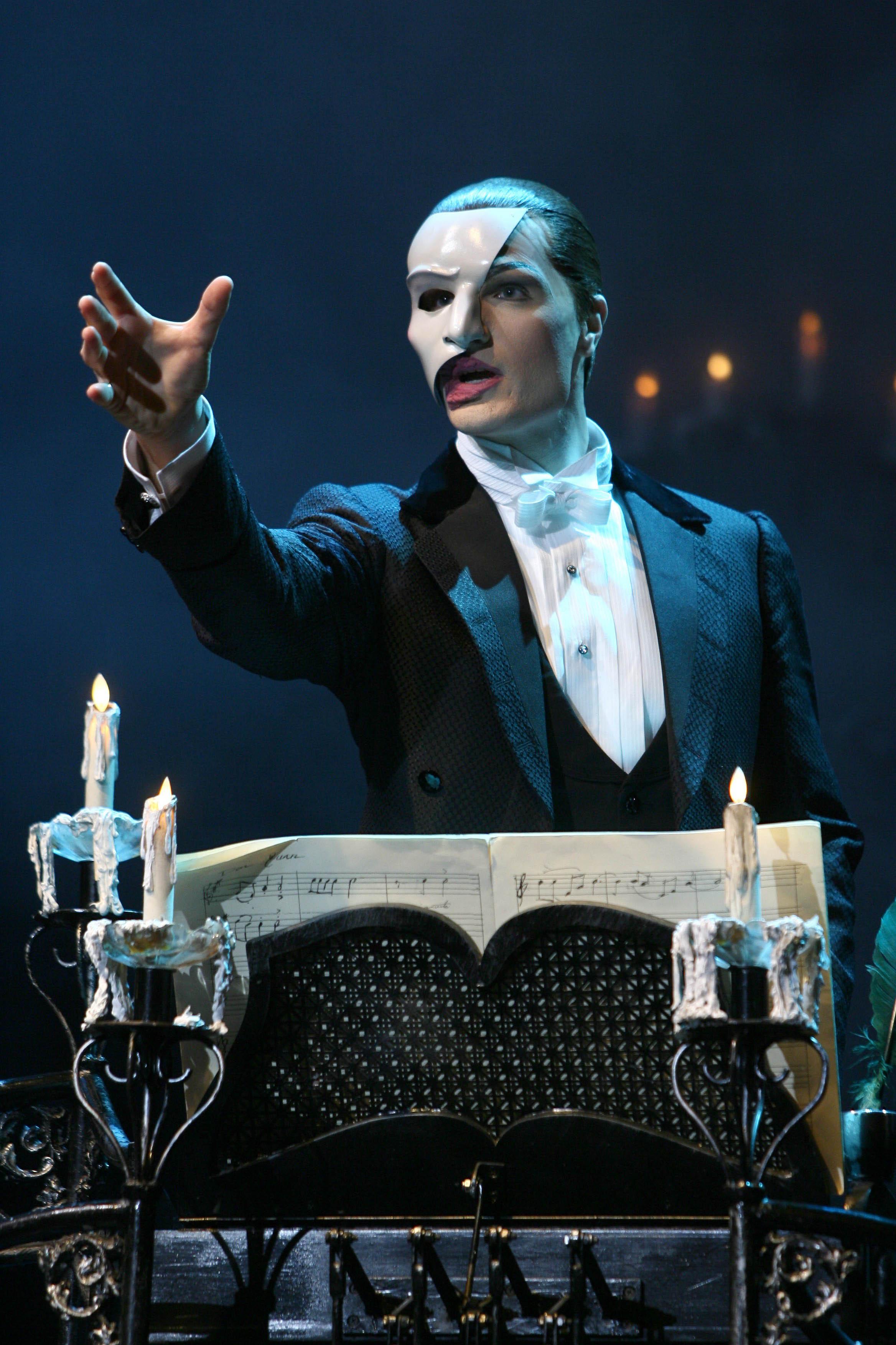 Script of phantom of the opera